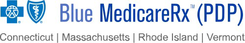Blue MedicareRx (PDP) is a prescription drug plan available to residents of Connecticut, Massachusetts, Rhode Island and Vermont